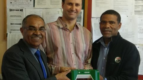 Manenberg High received their new SeeBox for engineering education